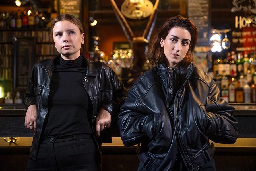 Amanda Jansson och Gizem Erdogan