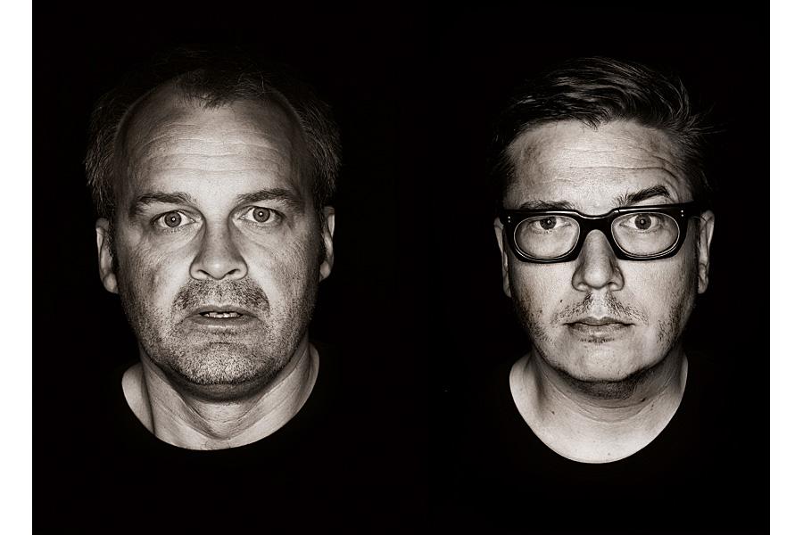 Johan Rheborg och Tomas Alfredson